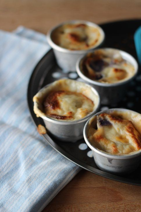 patate viola gratinate con il formaggio: la ricetta