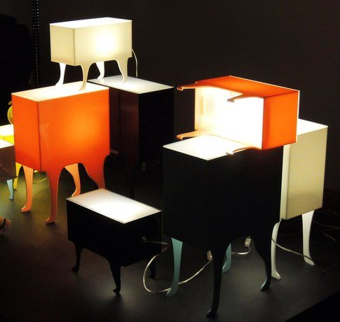 Rio+Design Lampada-tavolino Zoo - design: Bernardo Senna