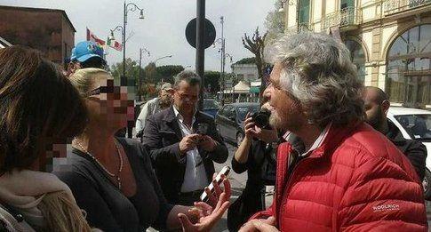 Beppe Grillo e la prostituta Elisa