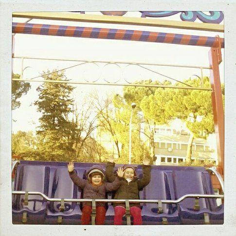 Matilde e Margherita al parco