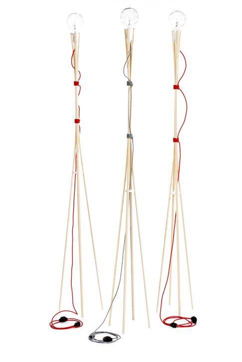 Otzi lamp designed by Filippo Losi and Giovanni Trabacchi