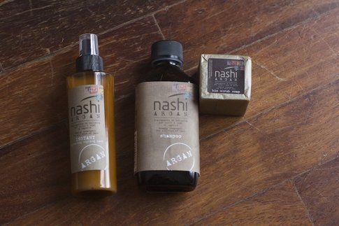 Instant, Shampoo e mini Sapone Scrub di Nashi Argan