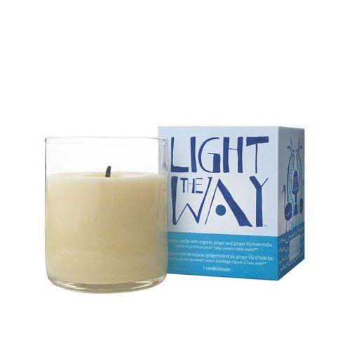 Light the way candle di Aveda per il mese della Terra
