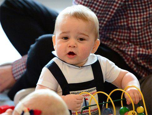 Il principino George - foto Getty Images