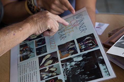 L'ex-pugile Luigi Coluzzi si racconta ad Italian Dreamtime (Foto di Oriana Pagano)