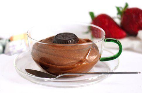 La mousse al cioccolato di Monica