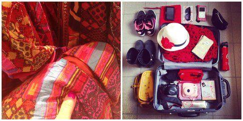 La valigia primaverile per una capitale - foto di Elisa
