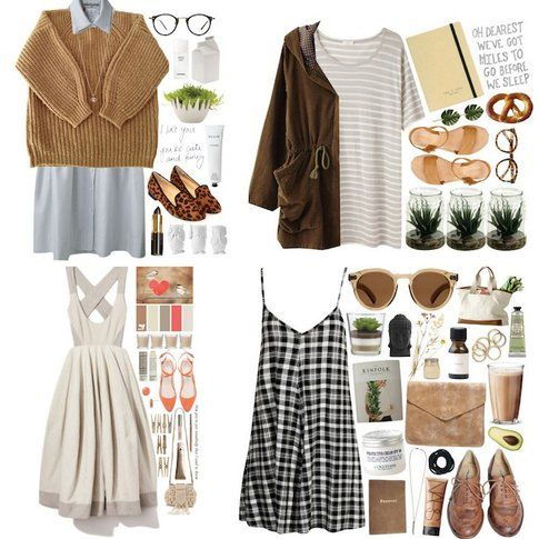 Pasquetta fuori porta: le nostre proposte di Look! - Look Country Style - Fonte: Polyvore