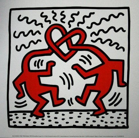 Haring untitled 1989