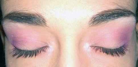 Un dettaglio degli occhi