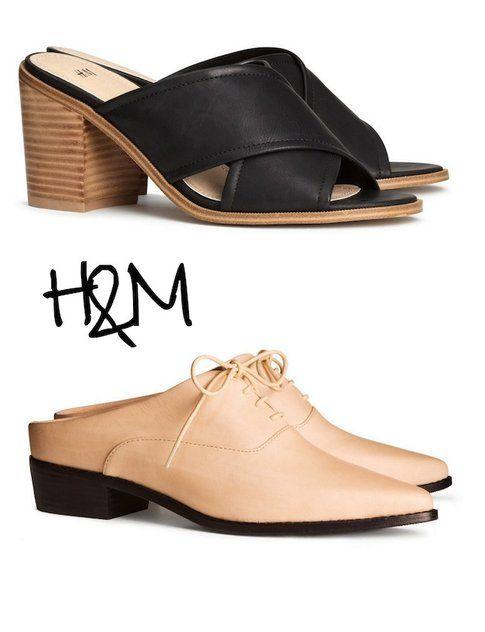 Sabot: le proposte di H&M - Fonte: H&M
