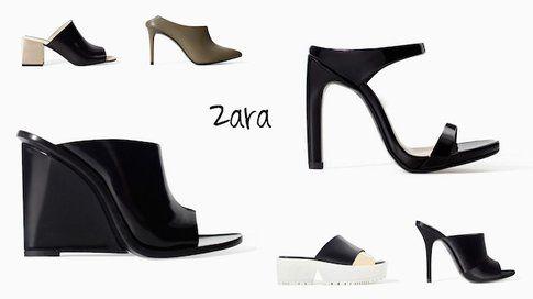 Sabot: le proposte di Zara - Fonte:  Zara