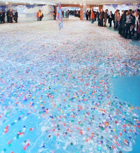 Maria Cristina Finucci Garbage Patch State Parigi