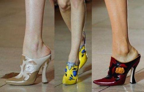 Sabot MiuMiu Collezione P/E 2014 - Fonte: vogue.it (MiuMiu Shoes)