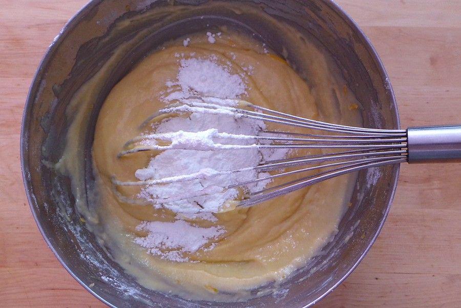 plumcake alle mele: lievito