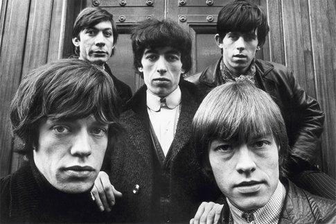 I Rolling Stones in Hanover Square Londra, 1964 © Terry O'Neill