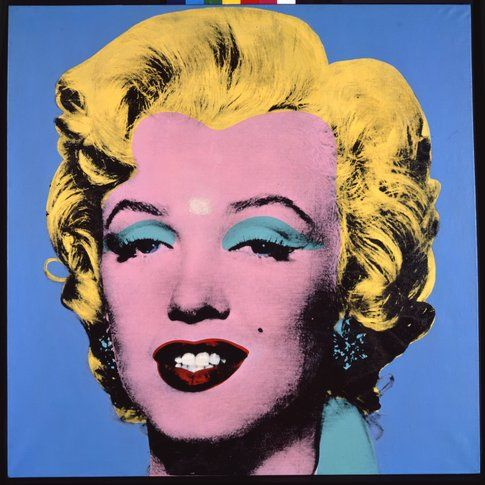 Andy Warhol Blue Shot Marilyn© The Andy Warhol Foundation for the Visual Arts Inc. by SIAE 2014