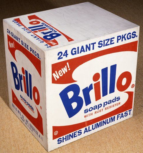 Andy Warhol Brillo Box © The Andy Warhol Foundation for the Visual Arts Inc. by SIAE 2014