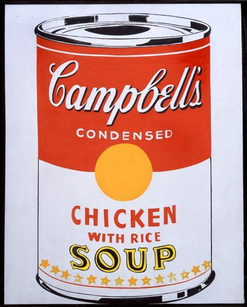 Andy Warhol Campbell's Soup Can © The Andy Warhol Foundation for the Visual Arts Inc. by SIAE 2014