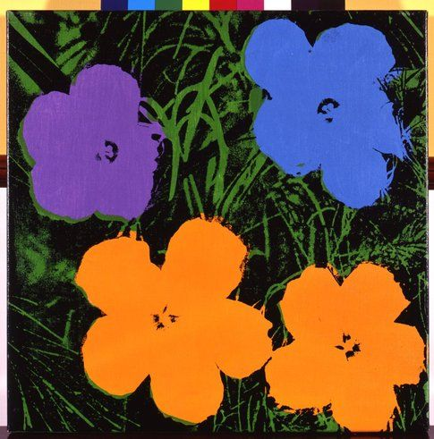 Andy Warhol Flowers © The Andy Warhol Foundation for the Visual Arts Inc. by SIAE 2014