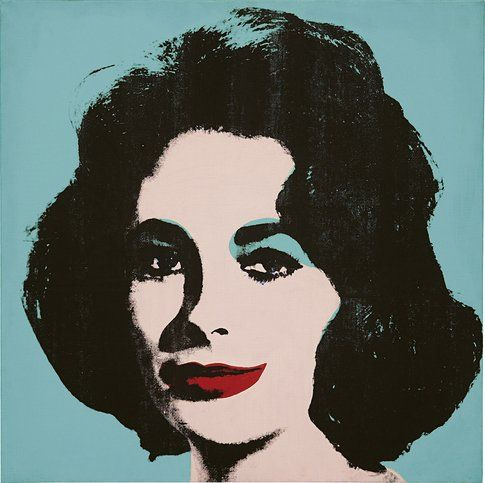 Andy Warhol Liz #5 © The Andy Warhol Foundation for the Visual Arts Inc. by SIAE 2014