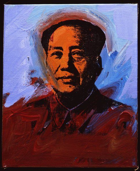 Andy Warhol Mao © The Andy Warhol Foundation for the Visual Arts Inc. by SIAE 2014