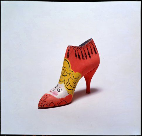 Andy Warhol Shoe © The Andy Warhol Foundation for the Visual Arts Inc. by SIAE 2014