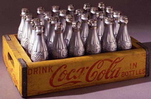 Andy Warhol Silver Coke Bottles© The Andy Warhol Foundation for the Visual Arts Inc. by SIAE 2014