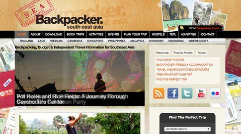 Southeast Asia Backpacker