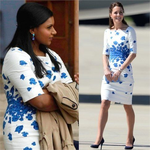 Kate Middleton e Mindy Kaling