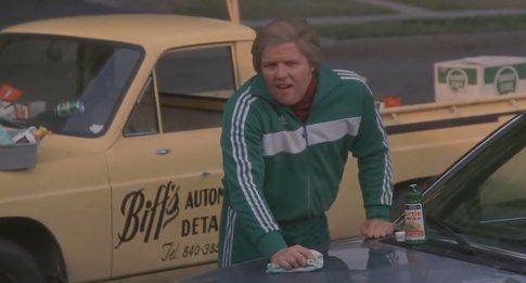 Biff Tannen (Tom Wilson) in Ritorno al Futuro
