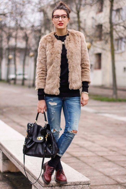 Modello BoyFriend Jeans indossato da Carlotta - fonte www.styleandtrouble.com
