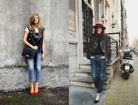 Modello Jeans Regular Fit indossato da Chiara Ferragni e Any Torres (theblondesalad.com e stylescrapbook.com)
