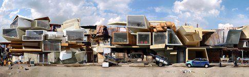 Favelas. Acqua-gasosa