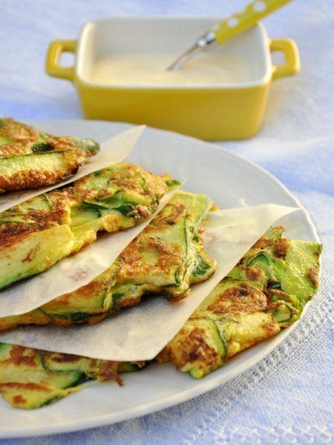 Frittata con zucchine, menta e limone, blog Una Cucina tutta per sè.