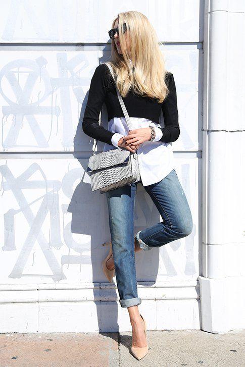 Modello Slim Fit Jeans indossato da Shea Marie (peaceloveshea.com)