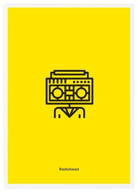 Radiohead, Rock Band Icons