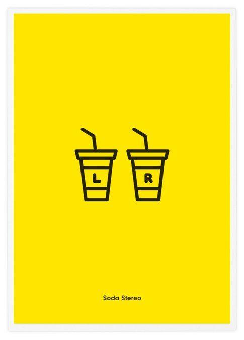 Soda Stereo, Rock Band Icons