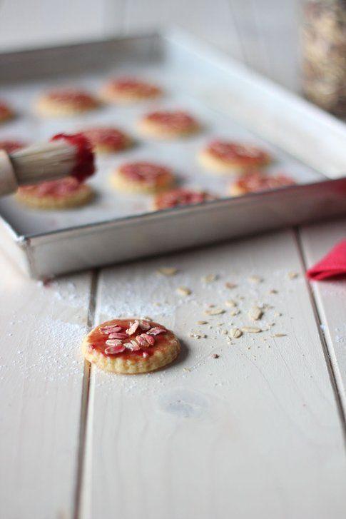 la ricetta dei biscotti light alla marmellata
