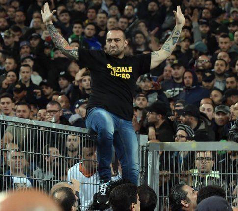 Genny a carogna allo stadio Olimpico di Roma