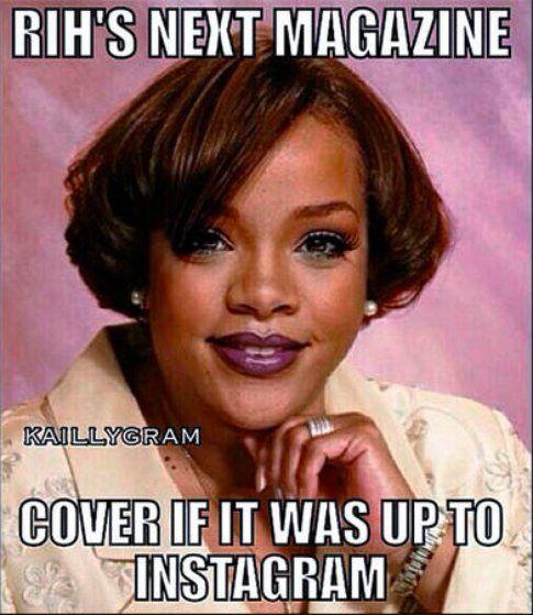 Finta cover di Rihanna
