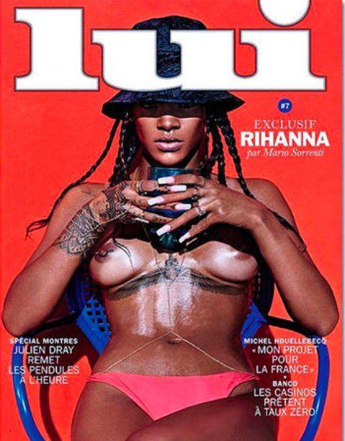 Copertina del magazine Lui