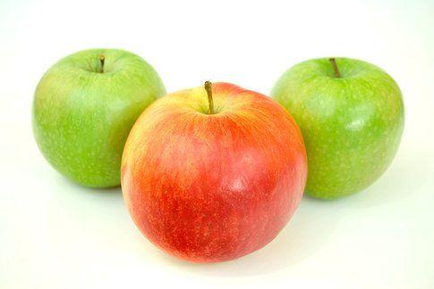 Corporatura a mela - Fonte: wikicommons
