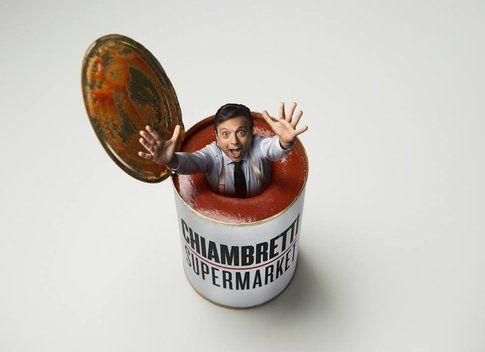 Chiambretti Supermarket - foto da pagina Facebook Italia1