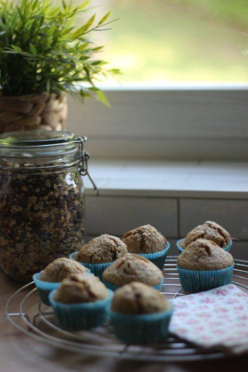 la ricetta dei muffin integrali e cereali