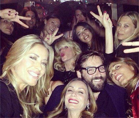 Addio al nubilato di Elena Santarelli - Foto Instagram