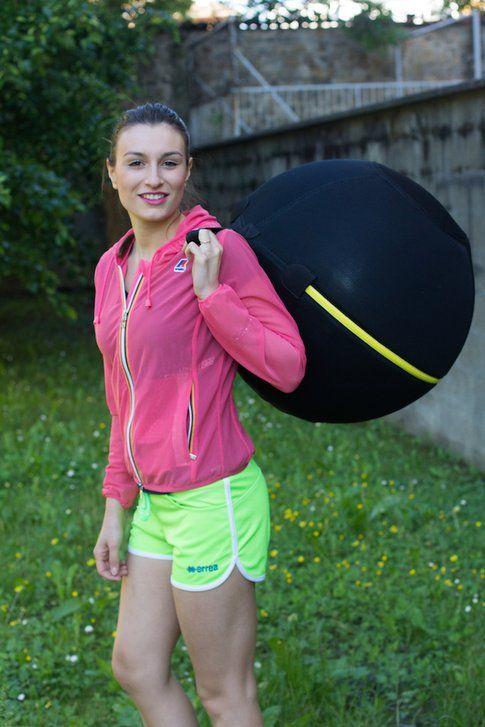 la nostra Carlotta di StyleandTrouble.com in veste super sportiva!