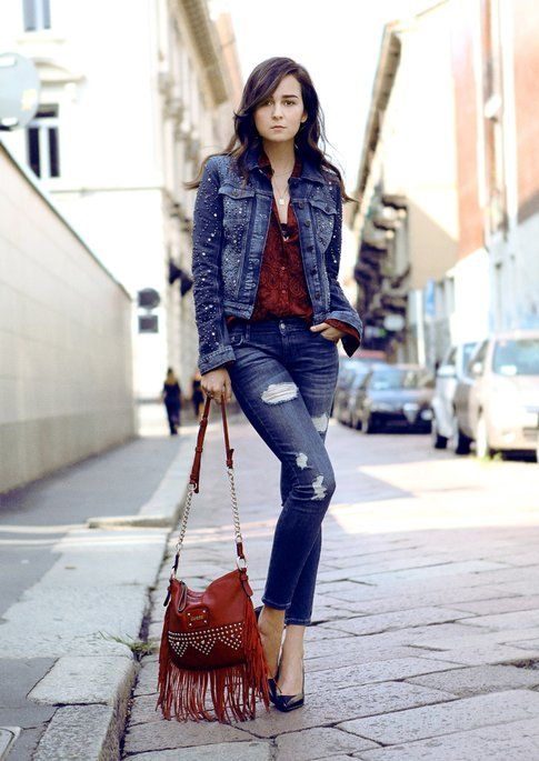Outfit #1: Total Denim di Andy Torres (stylescrapbook.com)