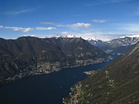 Il lago di Como da Brunate - foto di Antonis lamnatos