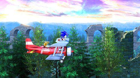 Il blu di Sonic è inconfondibile! (fonte Multiplayer.it)